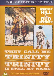 DVD of They call me Trinity / Trinity is still my name