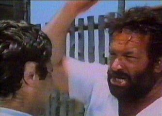 Bud Spencer as Rizzo in action (The knock out cop)
